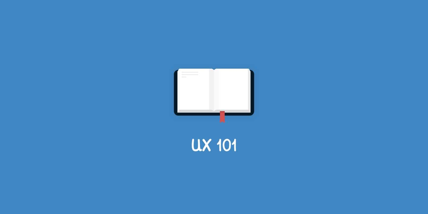 UX 101. What is UX?