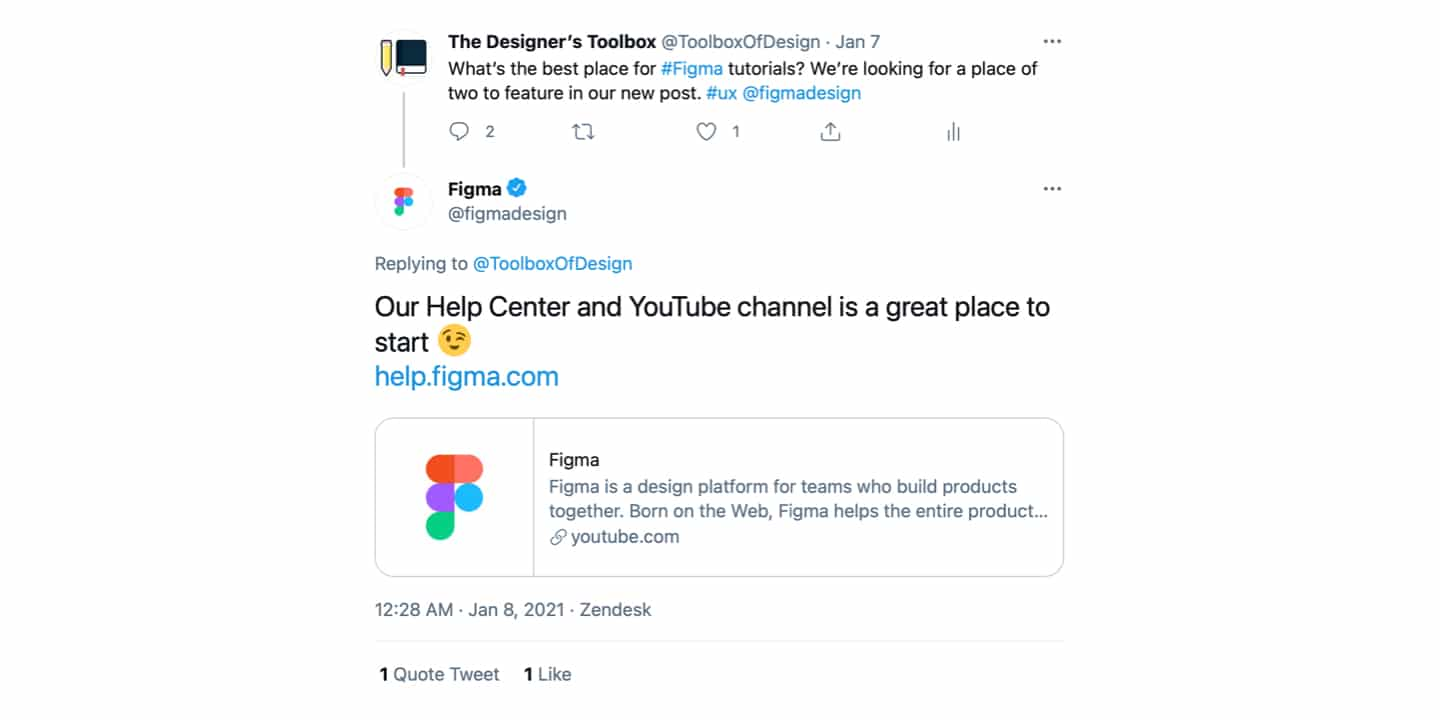 Figma Tutorials Reply on Twitter