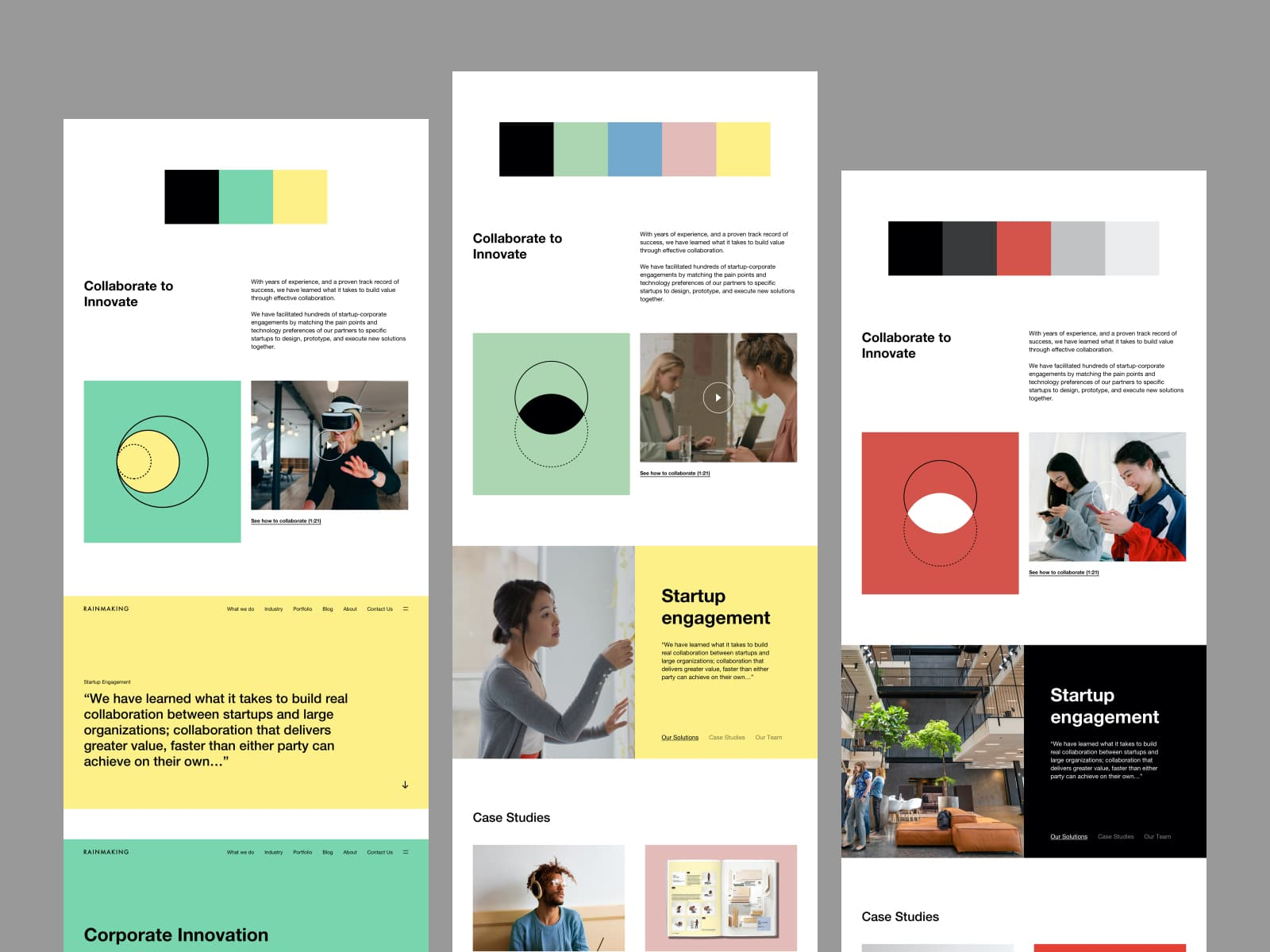 Which design field is right for me? An example showing the field of visual design