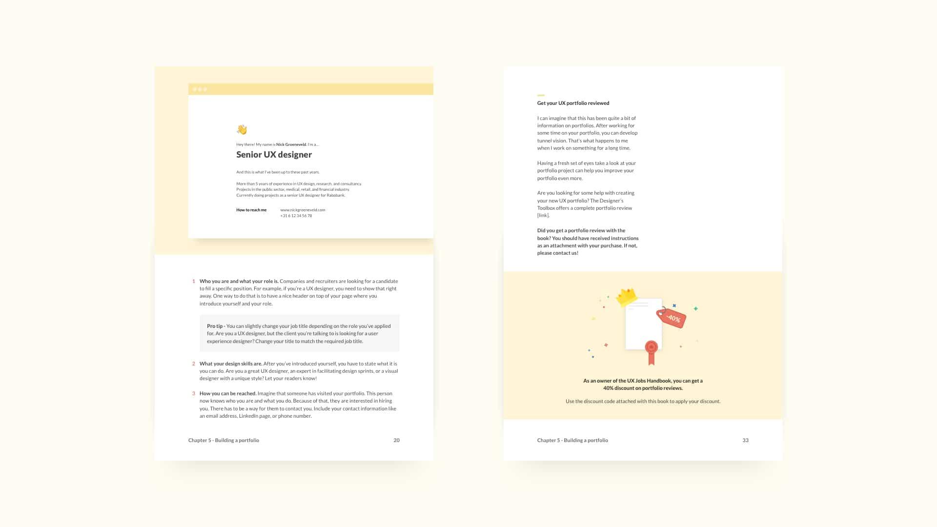 UX Jobs Handbook Overview Slide Three