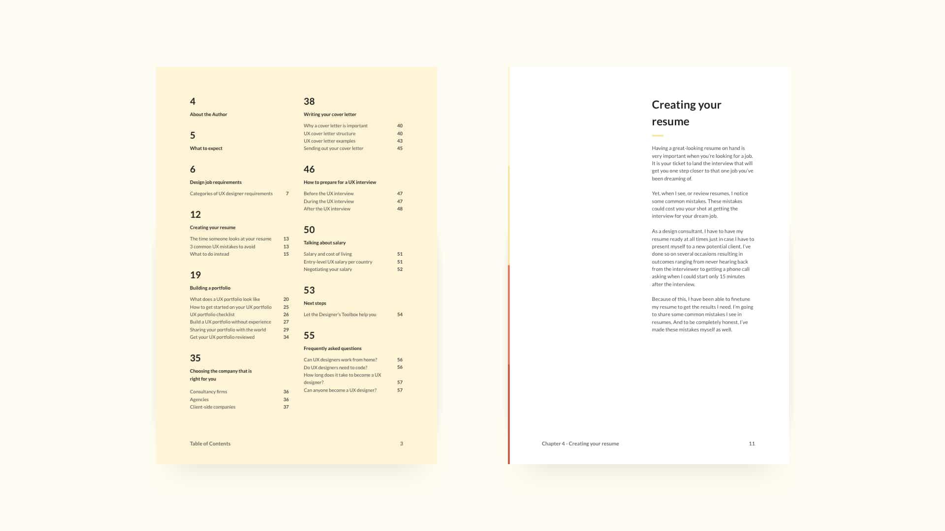 UX Jobs Handbook Overview slide one
